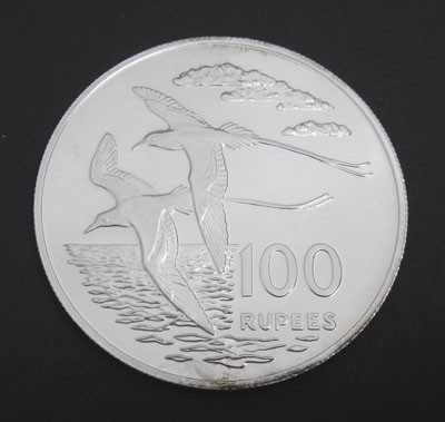 White-tailed Tropic Birds - Seychelles - 100 rupees - 1978