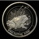 Giant Bullfrog - South Africa - .925 medal - 2008