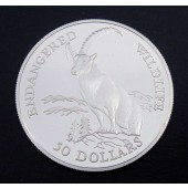 Alpine Ibex - Cook Islands - 50 dollars - 1991