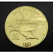 Baiji Dolphins Marshall Islands $10 1993