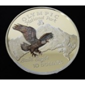 Bald Eagle - Cook Islands - 10 dollars - 1996