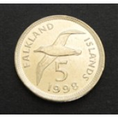 Black-browed Albatross - Falklands - 5 cts - 1998