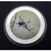 Black Widow Spider Zambia 1000 kwacha 2010