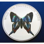 Butterfly - Congo - 10 francs - 2002