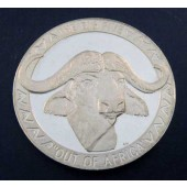 Cape Buffalo - Uganda - 5000 shillings - 2002