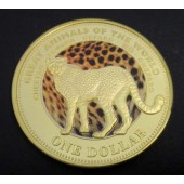 Cheetah - Fiji - dollar - 2009