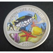 Spotted Clown Fish+Butterfly Fish - Congo - 5 francs - 2000