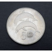 Dolphins - Iceland - 5 kronor - 1981