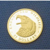 Bald Eagle - Cook Islands - 25 dollars - 1997