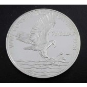 Fish Eagle Solmon Island dollar 1990