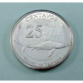 Galapagos Shark Galapagos Is 25 centavos 2008