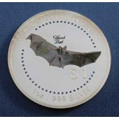 Ghost Bat Cook Islands dollar 1998