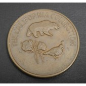 Grizzly Bear - California - copper medal - 1993
