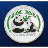 Giant Panda & Cub DPR Korea 1 won 1997