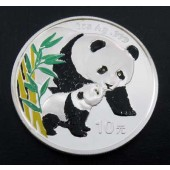 Giant Panda & Cub PR China 10 yuan 2004