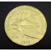 Indo-Pacific Humpback Dolphins Marshall Islands $10 1993