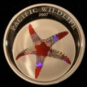 Starfish - Palau - 5 dollars - 2007