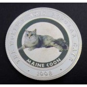 Maine Coon Cat Somalia 250 shillings 1998