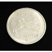 Elkhound - Norway - 50 ore - 1962
