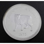 Manx Cat Isle of Man 25 pence 1975