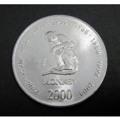 Monkey - Somalia - 10 shillings - 2000