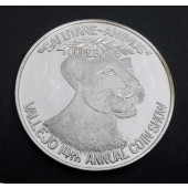 Mtn Lion Vallejo USA Medal 1986