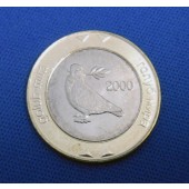 Peace Dove - Bosnia - 2 km (bimetal) - 2000