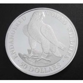 Peregrine Falcon - Cook Islands - 50 dollar - 1990