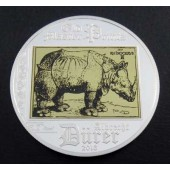 Rhinoceros Cook Islands 5 dollars 2013