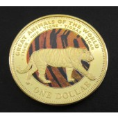 Tiger - Fiji - dollar - 2009