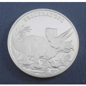 Triceratops - Poland - Medal -
