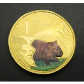 Common Wombat - Australia - dollar - 2008