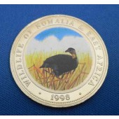 Yellow-necked Spurfowl - Somalia - 25 shillings - 1998